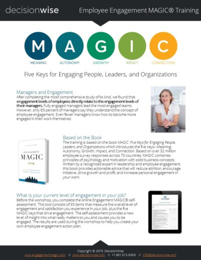 DecisionWise-Employee-Engagement-MAGIC-Training-Brochure-2019